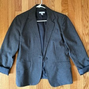 New York and Company Grey Blazer